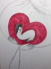 """""""Oändlig Kärlek"""" 20×29 cm"""